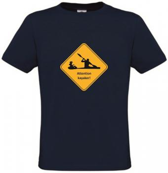 T-Shirt Attention kayaker