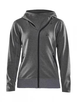 Sports Fleece Assymetric Jacket Damen