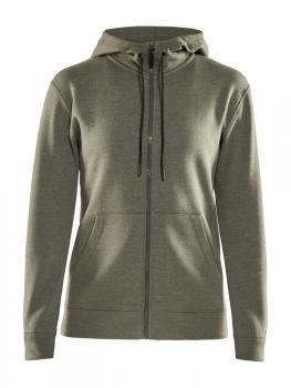 Full-Zip Hoody Jacket Damen